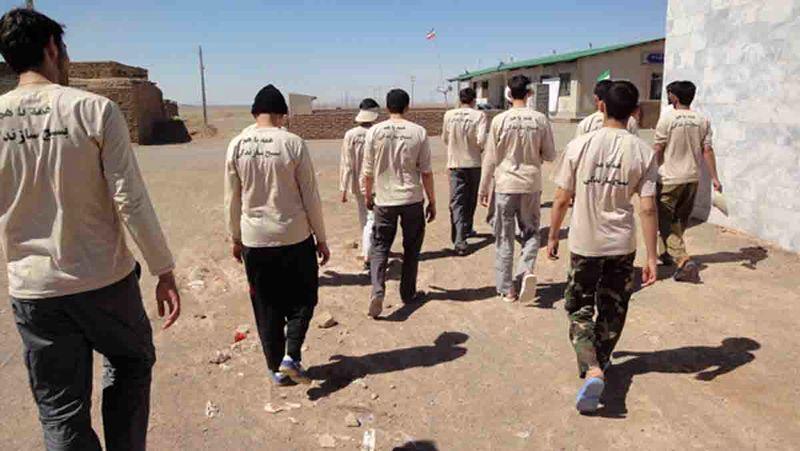 مشارکت 900 نفر از بسیجیان در اردو های جهادی