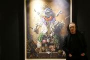 نمایشگاه نقاشی واحد خاکدان تا اول دی تمدید شد