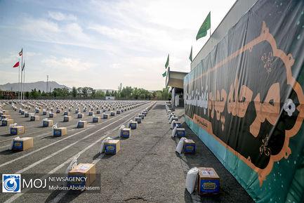 مرحله چهارم کمک مومنانه بسیج  ویژه ماه رمضان