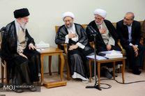 رئیس و مسئولان قوه قضائیه با رهبر انقلاب دیدار کردند