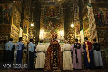 جشن آغاز سال نو میلادی در کلیسای وانک اصفهان