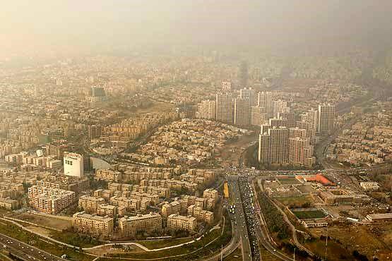 کیفیت هوای تهران در 19 آبان ناسالم است
