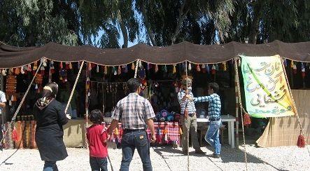 نخستین جشنواره دستاوردهای عشایر شرق اصفهان آغاز بکار کرد