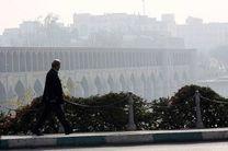 هوای اصفهان برای گروه های حساس ناسالم است / شاخص کیفی هوا 114