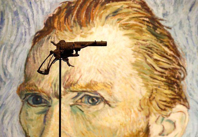 اسلحه ای که ونسان ونگوگ خود را با آن کشت، به حراج گذاشته می شود