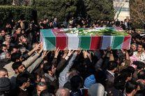 تشییع ۱۰ شهید دوران دفاع مقدس در اصفهان