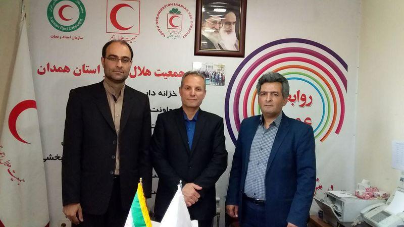 گفتگو با مدیران روابط عمومی اداره کل اوقاف و امور خیریه و هلال احمر استان همدان