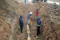 وصل گاز هشت روستای منطقه پیرکوه شهرستان سیاهکل