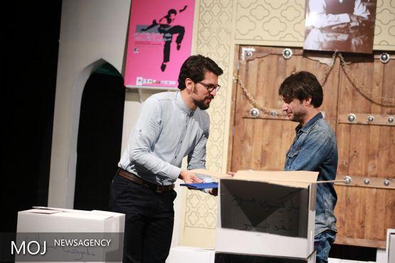 سوال جالب بازیگر تقدیرشده جشنواره باران از کارگردانها
