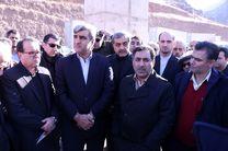 بازدید استاندار گیلان از مراحل احداث پروژه راه آهن رشت - قزوین