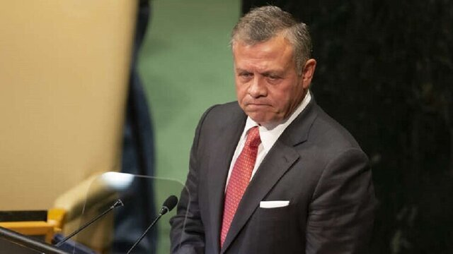 تست کرونای پادشاه اردن اعلام شد