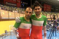 ایران در دوچرخه سواری پیست قهرمانی آسیا مدال نقره گرفت
