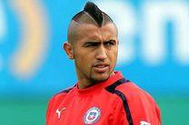آرتورو ویدال از تیم ملی فوتبال شیلی خداحافظی  کرد