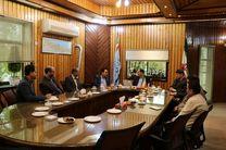 دیدار فرماندار بندرانزلی با مدیرکل سازمان انتقال خون استان گیلان
