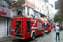 پاسخگوی بالغ بر ۸۶۴ تماس شهروندان/امداد رسانی به ۲۳ مورد حریق و حادثه توسط آتش نشانان