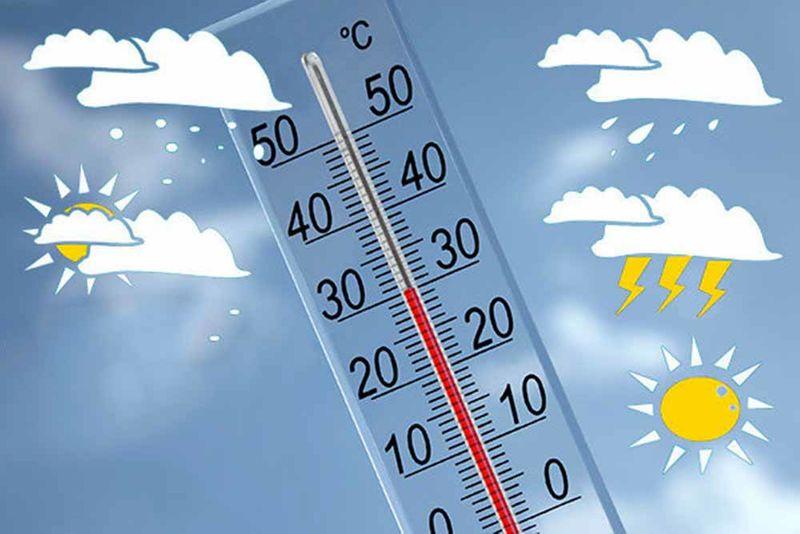 کاهش دمای هوا در همدان