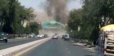 مقر ناتو در کابل هدف حمله راکتی قرار گرفت