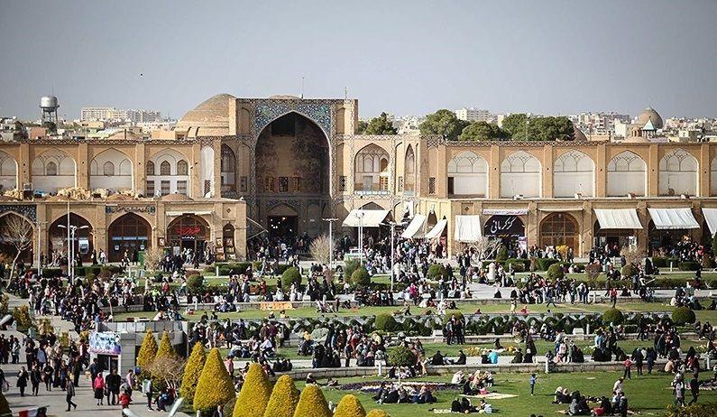 افزایش 5 درصدی اقامت گردشگران  نوروزی نسبت به سال گذشته در اصفهان