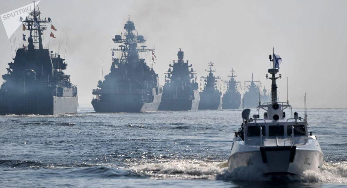 آغاز رزمایش مشترک دریایی روسیه و قزاقستان در دریای خزر