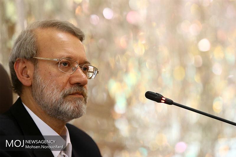 تقدیر لاریجانی از مدیرعامل بانک سپه