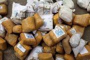 کشف 385 کیلوگرم مواد مخدر در میناب
