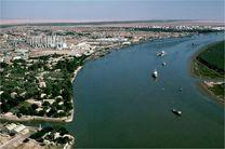 خط کشتیرانی بندر خرمشهر-صحار عمان افتتاح شد