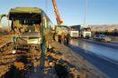 """تصادف """"مسجدسلیمان-دوراهی لالی"""" تلفات جانی نداشته است"""
