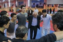 سجادی از اردوی تکواندوکاران المپیک بازدید کرد
