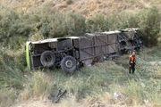 نقص فنی در ترمز احتمال سقوط اتوبوس در دره جاجرود