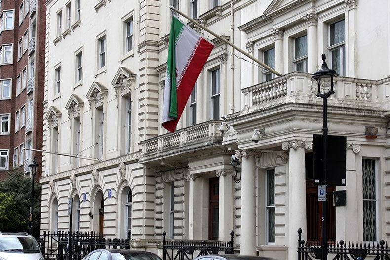 تعرض به سفارت ایران در پاریس توسط تروریست ها