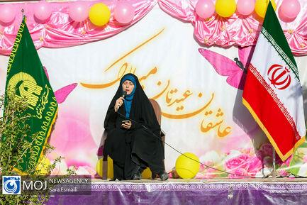 جشن روز دختر به مناسبت میلاد حضرت فاطمه معصومه (س)