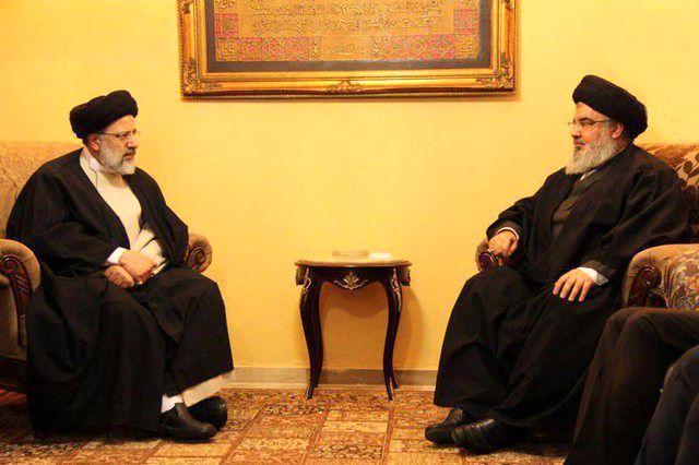رئیسی با سید حسن نصرالله دیدار کرد