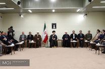 دیدار رئیس جمهور و اعضای هیأت دولت با حضرت آیتالله خامنهای