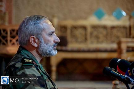 نشست خبری فرمانده قرارگاه شهید فهمیده