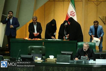 انتخاب هیات رییسه مجلس شورای اسلامی- ۵ خرداد ۱۳۹۸-علی لاریجانی مجلس
