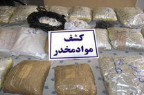 کشف ۸۷۳ کیلو انواع موادمخدر در گیلان