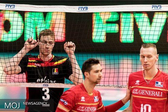 پیروزی شگفت انگیز بلژیک مقابل فرانسه