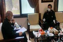 محسن رضایی با فرمانده کل سپاه دیدار کرد