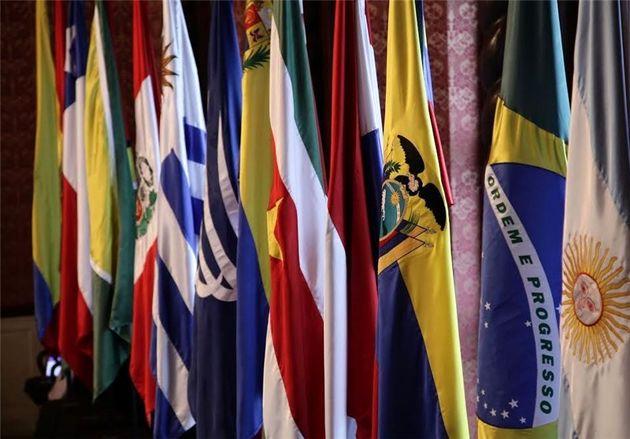 حمایت کشورهای آمریکای لاتین از ونزوئلا مقابل آمریکا