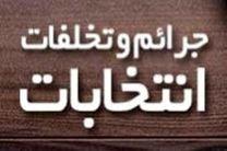 جلسه شورای پیشگیری از جرائم و تخلفات انتخاباتی استان قم برگزار شد