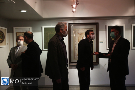 افتتاحیه نمایشگاه خوشنویسی صریر سبلان