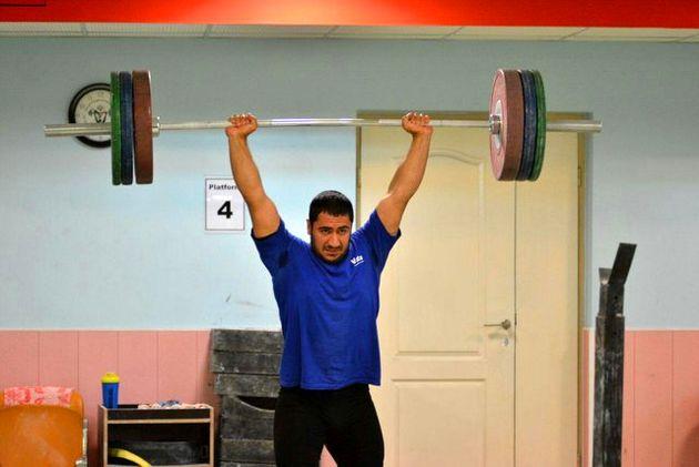 مدال نقره بیرالوند در یک ضرب دسته ۱۰۵ کیلوگرم جوانان جهان