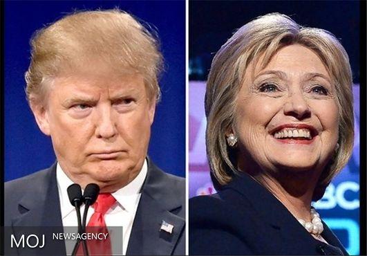 ترامپ ۸ درصد بیش از کلینتون منفور است