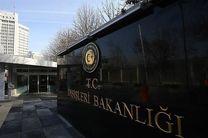ترکیه ادعای آمریکا را تکذیب کرد