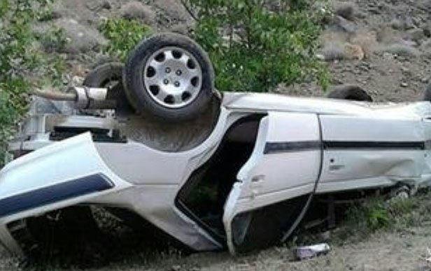 2 کشته و یک مجروح در اثر واژگونی سواری پژو در سمیرم