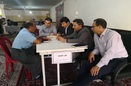 طرح میز خدمت در مسجد محله فرجه سنندج برگزار شد.
