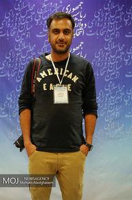 عکاسان و خبرنگاران حاضر در ستاد انتخابات کشور
