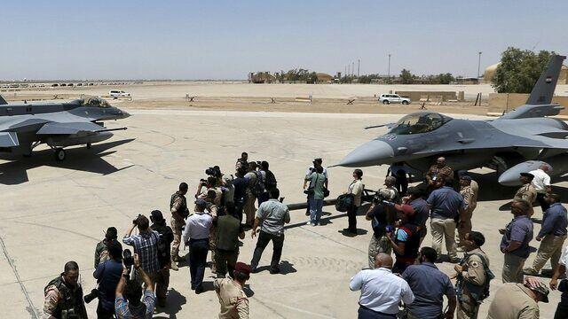 تدابیر امنیتی در پایگاه هوایی بلد عراق افزایش یافت