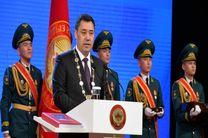 مراسم تحلیف رئیس جمهور قرقیزستان با حضور مقامات برگزار شد