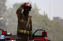 آتش سوزی پاساژ خیام در خیابان امام خمینی